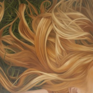 Blond_Hair_(Grass)_2011_Oil_on_wood_panel_12x12inches_photo_Dan_Carlson