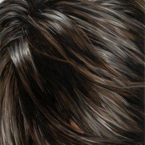 Brunette,_Straight_2008_Oil_on_wood_panel_10x8 inches_Jean_Vong