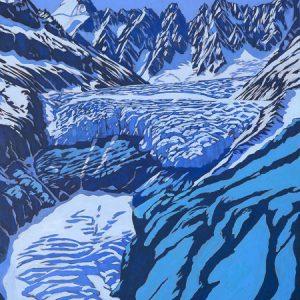 Glacier d'Argentiere 2015